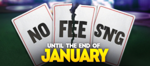 Full Flush Poker brings back No Fee SNG promotion until end of January