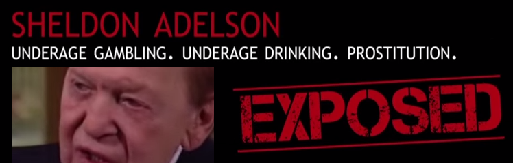 Anti-online gambling cmpaigner Sheldon Adelson Exposed as Hypocrite